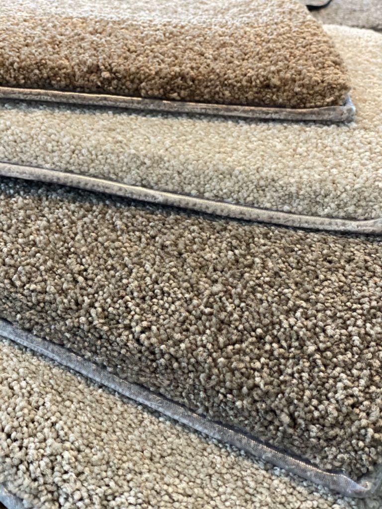Carpet Samples from Diamond Flooring Intallation